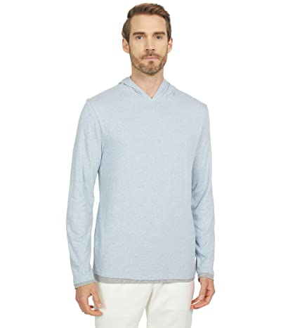 Vince Double Layer Contrast Hoodie