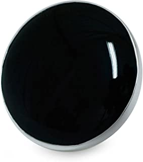 Obsidian .925 Sterling Silver Cocktail Ring, New Moon over Taxco'