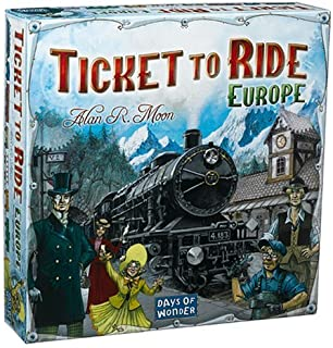 Ticket to Ride - Europe - Uitdagend Bordspel - Reis door Europa - Nederlandstalig - Voor de hele Familie - Taal: Nederlands