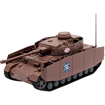 プラッツ ガールズ&パンツァー劇場版 てのひら戦車道コレクション 4号戦車H型/D型改 あんこうチーム 1/72スケール 塗装済み完成品 GPC72-3