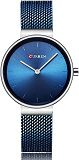 CURREN Original Women's Girls Sports Waterproof Stainless Steel Quartz Wrist Watch 9016