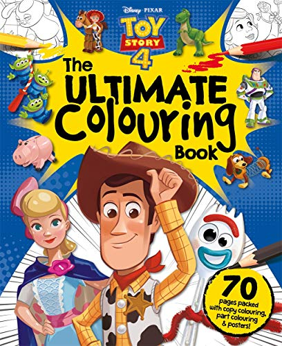 Disney Pixar Toy Story 4 The Ultimate Colouring Book (Mammoth Colouring)