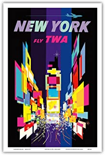 Best twa times square poster Reviews