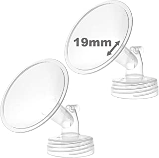 Nenesupply Compatibile 19mm Flanges for Spectra S2 Spectra S1 Breastpump. Made by Nenesupply. Not Original Spectra Pump Parts Not Original Spectra S2 Accessories Not Original Spectra Flange