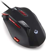 PAWHITS Ergonomic Gaming Mouse - 16400 DPI 12 Programmable Buttons USB Wired