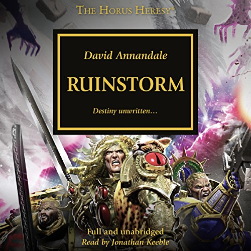 Ruinstorm audiobook cover art