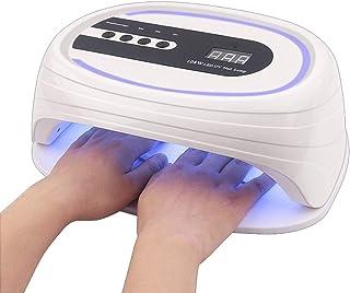 GYNFJK Lámpara de uñas LED UV, Alta Potencia de 108 W, 36 Perlas de lámpara de Fuente de luz Dual, temporización de múltiples etapas, ambas adecuadas para la Familia, el salón, Las Manos y los pies