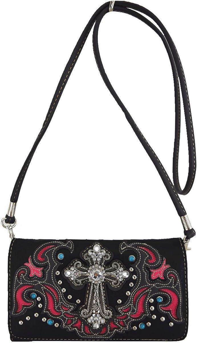 Womens [Religious] PU Leather Fashion Bag Elegant Purse