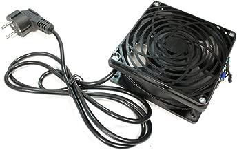 """Lüfter Decke für Rack 19"""" 120mm mit 220VAC Netz und Netzkabel - RackMatic"""