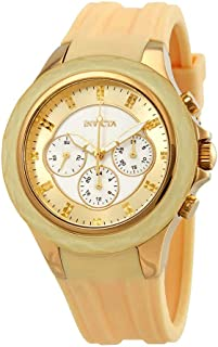 Invicta Women's Angel Morning Star Quartz Silicone Strap Watch-22674