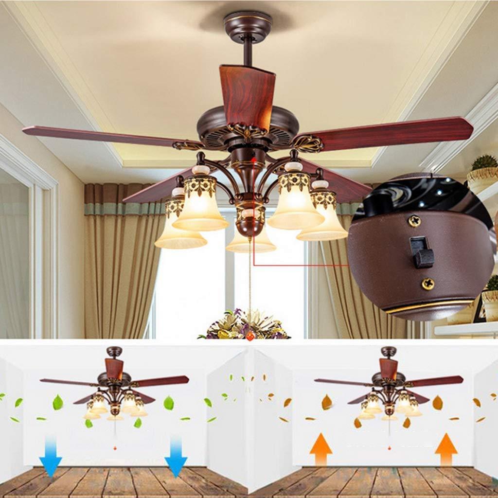 Ventiladores de techo Modern 42 Inch Iron Blade Ventiladores de ...