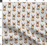 Hase, Kaninchen, Ostern, Baby, Frühling, Hipster,