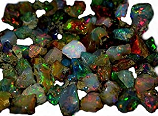 natural black opal rough