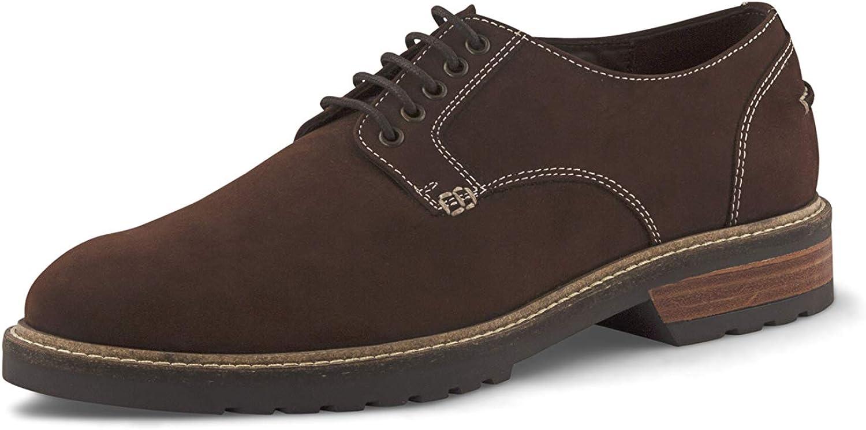 AZYRRHA Men's Classic Buck Leather Derby Blackpool shoes