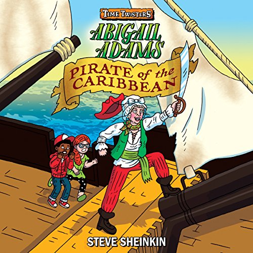 Abigail Adams, Pirate of the Caribbean cover art