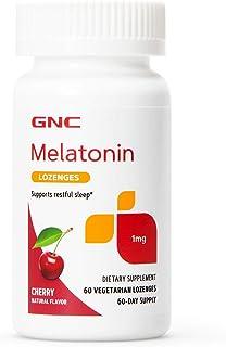 GNC Melatonin Lozenges 1 mg - Cherry