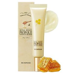 SKINFOOD Royal Honey Essential Facial Primer - Concentrated Aged Honey Skin Nourishing Face Primer - Balancing Makeup Primer for Face for Smoothing & Refreshing Dry Skin - 30g (1.06 fl.oz)
