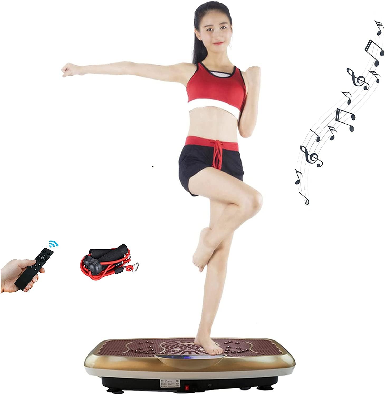 JHDOSD Vibration Plate Exercise Machine Workout Vib - Max 88% OFF Body Factory outlet Whole
