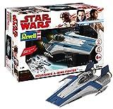 Revell - 06762 - Star Wars - Les derniers Jedi - Resistance A Wing fighter bleu