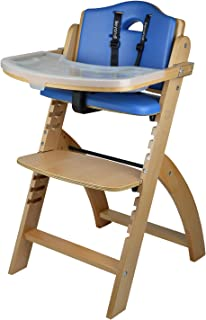 Abiie Beyond Wooden High Chair with Tray. The Perfect Adjustable Baby Highchair Solution for Your Babies and Toddlers or a...