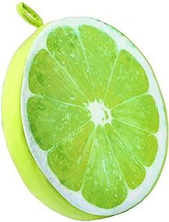 Kentop Almohada de Asiento Suave Almohada Redonda de Patron de Fruta Cojines de Silla y Sofa en Casa y Oficina