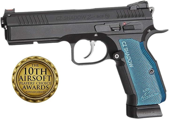 Pistola softair asg cz shadow 2 full metal scarrellante co2+multitool B07Z859RZV