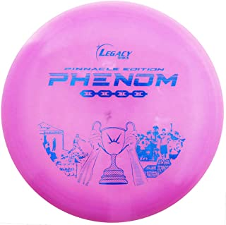 Legacy Discs Pinnacle Edition Phenom Fairway Driver Golf Disc [Colors May Vary]