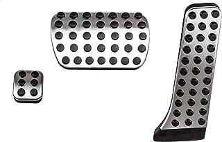 Edelstahl Pedal Automatik Pedale Pedalset Pedalkappen Fußstütze Für C Klasse W204 S204 C204 E Klasse W212 S212S Klasse W222 GLK X204 SLK R172 CLS W218 SL R231
