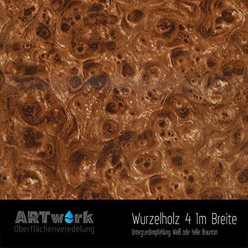 Wassertransferdruck exklusiv Design Folie ARTwork Wurzelholz 4 1m Breite