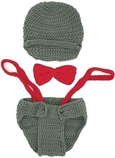 crochet baby suspenders