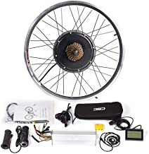 CSCbike MTB E-Bike Conversion Kit 36/48V Mountain Electric Bicycle Rear Wheel Conversion Parts with KT LCD3 Display Contro...