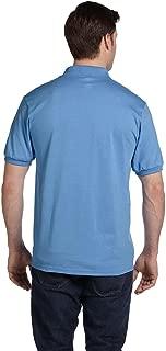 Men's Comfortblend Ecosmart Polo Jersey Shirt, Carolina Blue, XX-Large