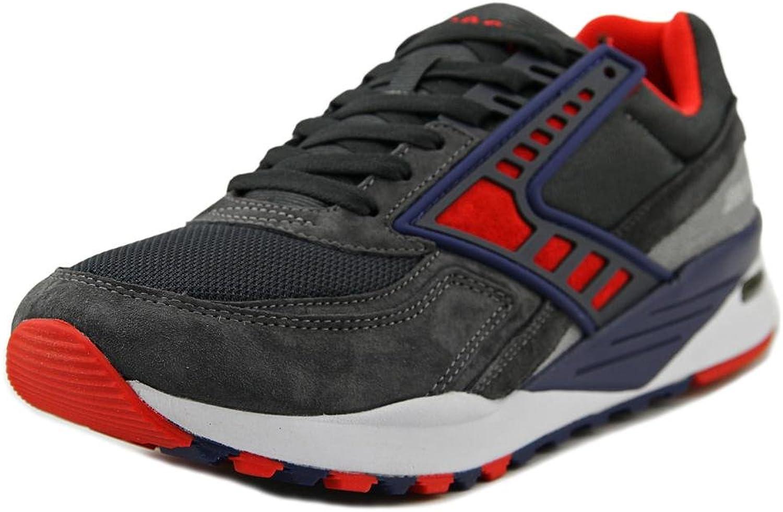 Brooks Heritage Men's Regent Anthracite High Risk Red Navy bluee Athletic shoes 9 D(M) US