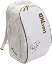 Wilson Federer DNA Tennis Backpack (White/Gold)