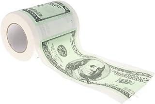 Prettyia $100 Dollar Money Printed Toilet Paper Roll Bathroom Tissue Novelty Gift