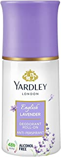 Yardley London English Lavender Deodorant Roll On Anti Perspirant For Women, 50ml