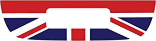 The Pixel Hut gs00121 Union Jack Flag Red White Blue Tail Gate Graphic for MINI Cooper S R56 (2007-2013)