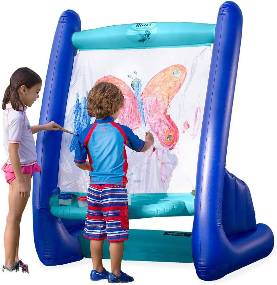 HearthSong NEW Heavy-Duty Vinyl Cash special price Inflatable Indoor and Easel Outdoor