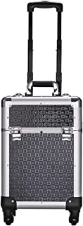 Tool box Aluminum Alloy Toolbox Multifunction Rolling Cosmetic Case Train Case Makup Trollry Beauty Toolbox Multi-layer Tr...