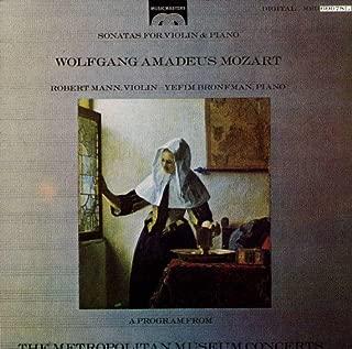 Mozart: Sonatas for Violin & Piano K302, K379, K526