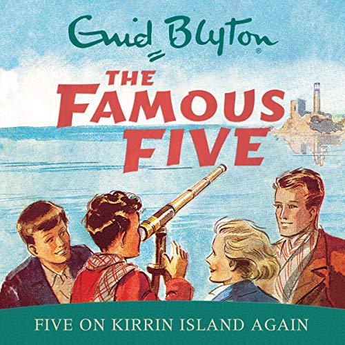『Famous Five: Five on Kirrin Island Again』のカバーアート