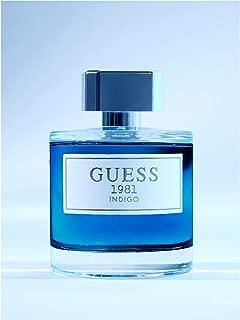 Men's Guess 1981 Indigo 3.4 oz 100 ml Eau De Toilette Spray for Men
