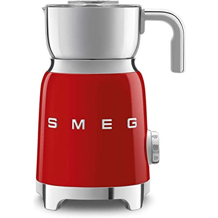 Smeg 50's Retro Red Milk Frother