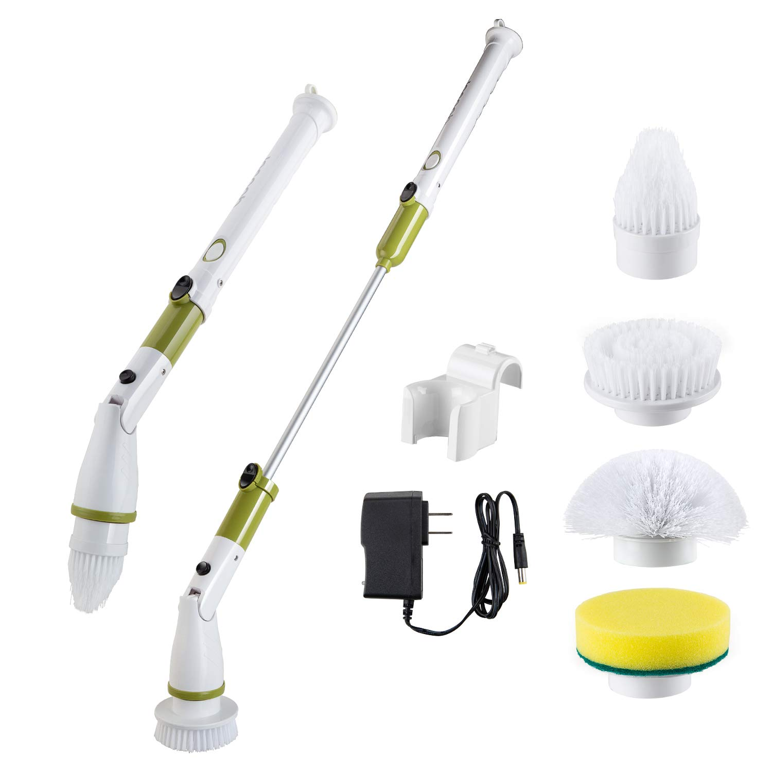 Electric Scrubber Upgraded Replaceable Extension