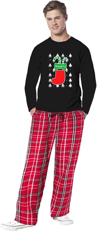 Awkward Styles Family Christmas Pajamas for Men Naughty Xmas Stocking Sleepwear Mens Pajama Sets