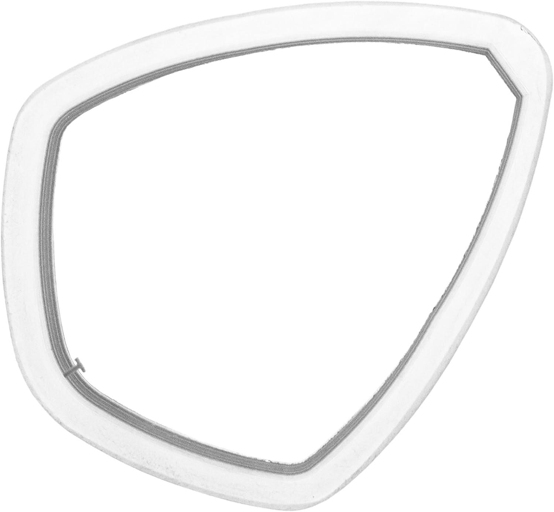 Cressi Negative Focus Optical Lens for Mask  Transparent, Size 2.5 DX SX
