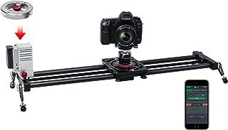 Camera Track Slider,ASHANKS Motorized with Handle Flywheel, 31