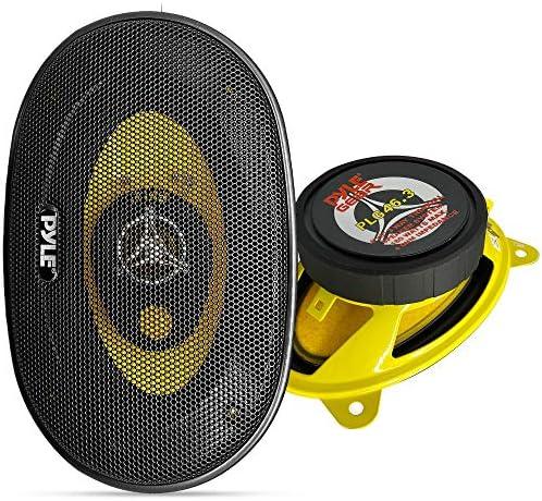 Pyle Pro 4 x 6 Car Three-Way Speaker System