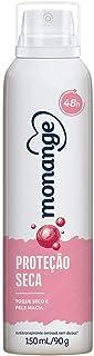 Desodorante Aerossol Antitranspirante Monange Feminino Proteção Seca 150ml, Monange