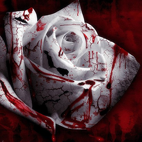 ESHOO 100 Samen Weiße Blut Rose Blumensamen Pflanze Haus Garten